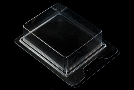 ref.1001:Blister packaging de PVC transparente