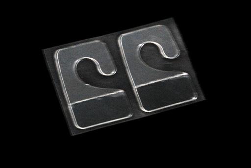 Modelados m ndez s l ref p94 gancho de pl stico for Colgadores de pared adhesivos
